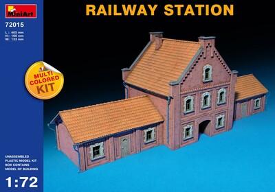 Железнодорожный вокзал - 72015 MiniArt 1:72