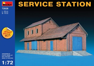 Станция техобслуживания - 72028 MiniArt 1:72