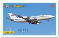 Ил-86 пассажирский лайнер. 7205 Modelsvit 1:72