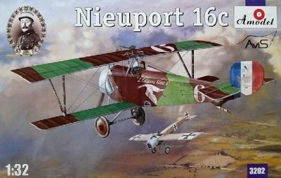Nieuport-16C (Andre Chainat) - 3202 Amodel 1:32