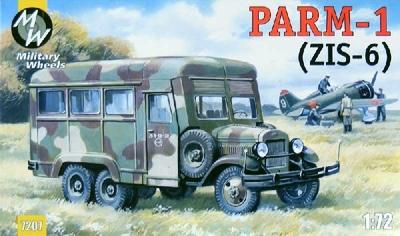 Автомобиль PARM-1 (ЗиС-6) - 7207 Military Weels 1:72