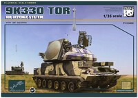 9А330 Тор-М1 (SA-15 Gauntlet) ЗРК ПВО - PH35008 Panda Hobby 1:35