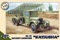 М-13(ЗиС-6) Катюша. PST 1:72