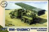 БМ-13 Катюша на базе GMC. PST 1:72