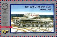 Тяжелый танк КВ-220-2. PST 1:72