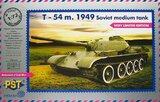 Средний танк Т-54 обр. 1949 (эпоксидная башня). PST 1:72
