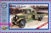 ЗиС-12 военный грузовик. 72072 PST 1:72