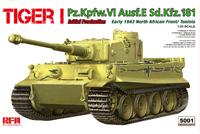 Tiger I (Т-VI Тигр) тяжелый танк - RM-5001 RyeField Model 1:35