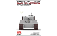Tiger I Late Prodution Workable Tracks траки на поздний Тигр - RM-5017 RyeField Model 1:35