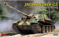 Jagdpanther G2 (САУ Ягдпантера-G2) w/full Interior - RM-5022 RyeField Model 1:35
