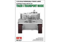 Tiger I Transport Tracks транспортные траки на Тигр - RM-5027 RyeField Model 1:35