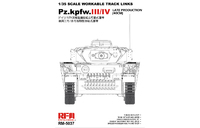 Pz.Kpfw.III/IV Late Production (40cm) траки на Панцер III/IV - RM-5037 RyeField Model 1:35