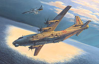 Ан-12БК-ППС самолет РЭБ - 046 Roden 1:72