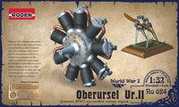 Двигатель Oberursel Ur.II. 624 Roden 1:32