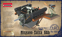 Двигатель Hispano-Suiza 8Ab. 625 Roden 1:32
