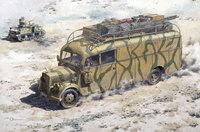Opel Blitz typ 3.6-47 Omnibus Stabswagen. 723 Roden 1:72