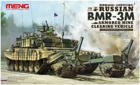 Russian BMR-3M Armored Mine Clearing Vehicle - SS-011 Meng 1:35