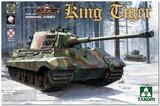 Sd.Kfz.182 King Tiger (Королевский Тигр) с башней Henschel тяжелый танк - 2073S Takom 1:35