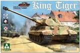 Sd.Kfz.182 King Tiger (Королевский Тигр) с башней Porsche тяжелый танк - 2074S Takom 1:35