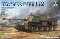 Jagdpanther G2 Sd.Kfz.173 w/Full Interior - 2118 Takom 1:35