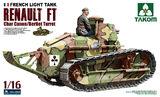 Renault FT Char Canon/Berliet Turret пушечный танк - 1003 Takom 1:16