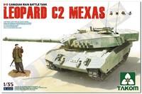 Канадский Leopard C2 MEXAS основной танк - 2003 Takom 1:35