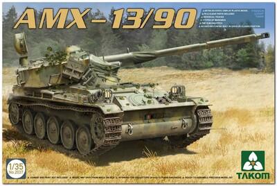 AMX-13/90 легкий танк - 2037 Takom 1:35
