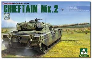 British Chieftain Mk.2 основной танк - 2040 Takom 1:35