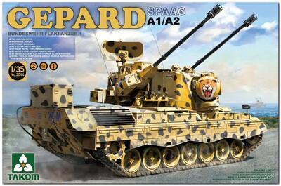 Bundeswehr Gepard A1/A2 SPAAG Flakpanzer-1 ЗСУ - 2044 Takom 1:35