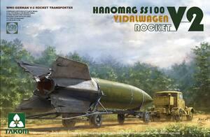 Hanomag SS100 Vidalwagen V-2 Rocket - 2110 Takom 1:35