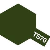 TS-70 JGSDF Olive Drab - Краска-спрей 100 мл 85070 Tamiya