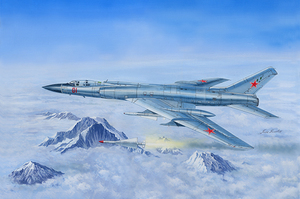 Ту-128 барражирующий перехватчик  - 01687 Trumpeter 1:72
