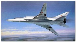 Ту-22М2 дальний бомбардировщик - 01655 Trumpeter 1:72