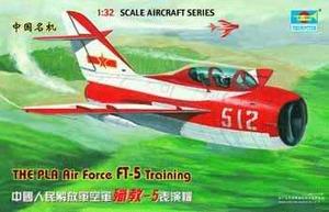 PLA FT-5 Trainer Учебный самолет - 02203 Trumpeter 1:32