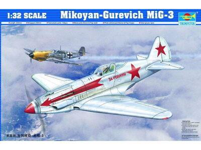 МиГ-3 истребитель - 02230 Trumpeter 1:32
