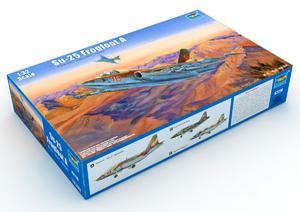 Су-25 штурмовик. 02276 Trumpeter 1:32
