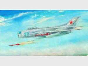 МиГ-19ПМ истребитель-перехватчик - 02804 Trumpeter 1:48