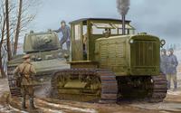 ЧТЗ Сталинец С-65 трактор с кабиной - 05539 Trumpeter 1:35