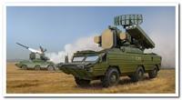 9К33 «Оса» (SA-8 Gecko) автоматизированный ЗРК дивизионной ПВО. 05597 Trumpeter 1:35