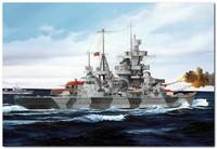 «Адмирал Хиппер» тяжелый крейсер 1941. 05776 Trumpeter 1:700