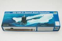 SSN-21 Seawolf подводная лодка - 05904 Trumpeter 1:144