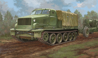 АТ-Т артиллерийский тягач - 09501 Trumpeter 1:35