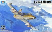 L-39ZA Albatros учебно-боевой самолет - 05805 Trumpeter 1:48