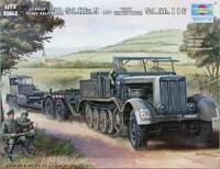 SdKfz 9 Famo танковый транспортер c трейлером - 07275 Trumpeter 1:72