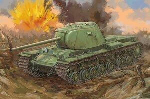 КВ-3 тяжелый танк - 09544 Trumpeter 1:35