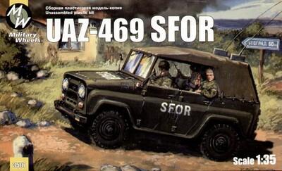 Автомобиль УАЗ-469 SFOR. Масштаб 1/35