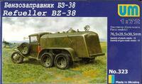 БЗ-38 бензозаправщик - UM-323 Unimodel 1:72