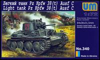 Pz.Kpfw. 38(t) Ausf. C - UM-340 Unimodel 1:72