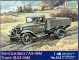 ГАЗ-ММ советский грузовик - UM-504 Unimodel 1:48
