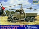 АС-2 аэродромный стартер на шасси ГАЗ-ААА - UM-506 Unimodel 1:48